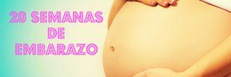 Semana 20 de embarazo