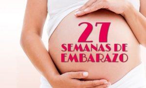 semana 27 embarazo peso madre