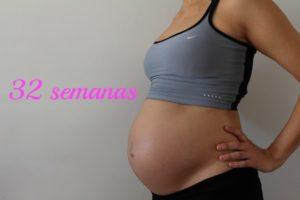 semana 32 embarazo contracciones