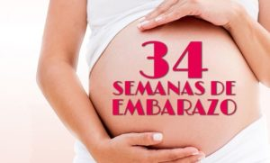 semana 34 embarazo