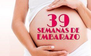 semana 39 embarazo