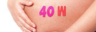 Semana 40 de embarazo