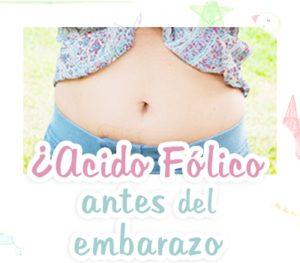 acido folico embarazo hasta cuando