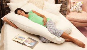 almohada para embarazadas paso a paso