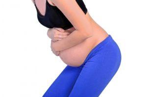 dolor de estomago embarazo 7 meses