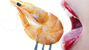 embarazo marisco cocido