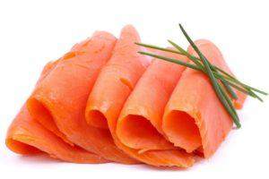 salmon ahumado embarazo