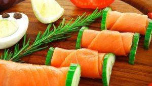 salmon ahumado previamente congelado embarazo